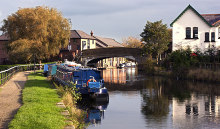 Burscough, The Leeds & Liverpool Canal at Burscough, Lancashire © Ian Greig